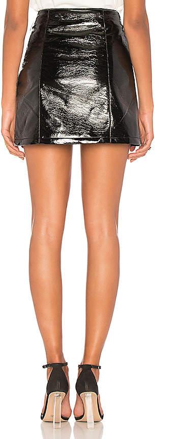 Capulet Sophie Patent Leather Skirt
