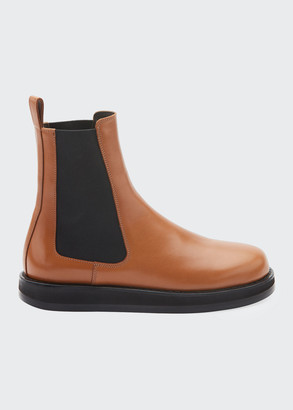 The Row Gaia Leather Gored Boots