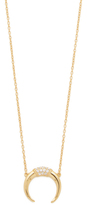 Shashi Horn Pave Necklace