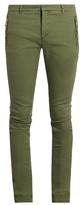Balmain Zip-detail Skinny-fit Jeans