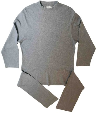 Balenciaga Grey Cotton Knitwear for Women