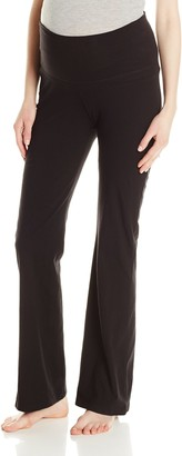 Three Seasons Maternity Women's Maternity Solid Knit Yoga Pant