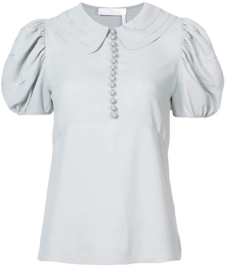 Chloé puff sleeved blouse