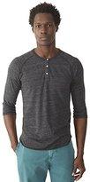 Alternative Men's Raglan 3/4 Sleeve Henley Shirt