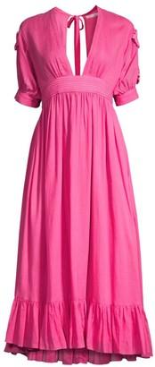 Carolina K. Greta Midi A-Line Dress