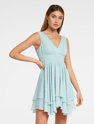 Forever New Luella Petite Prom Dress - SEAFOAM SPOT - 10