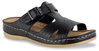 Easy Street Shoes Kimber Wedge Sandal
