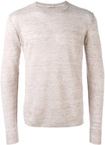 Paolo Pecora long sleeve sweater - men - Linen/Flax - L