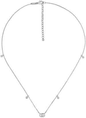 Gucci GG Running necklace in white gold