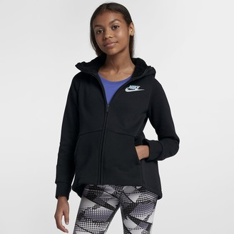 Nike Big Kids' (Girls') Full-Zip Hoodie Sportswear