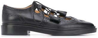 Thom Browne Ghillie pebbled leather brogues