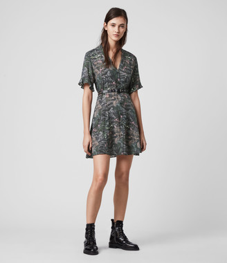 AllSaints Fay Paradeep Dress