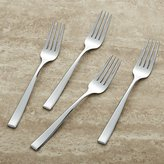 Crate & Barrel Set of 4 Salad Forks