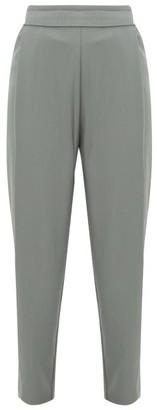 Palmer Harding Palmer//harding - Pleated Twill Trousers - Womens - Khaki