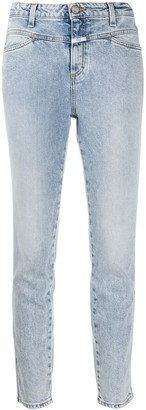 Closed denim high rise skinny jeans
