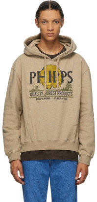 Phipps Taupe Lumber Logo Hoodie