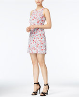 Kensie Rose-Print Shift Dress