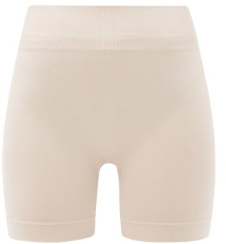 PRISM² Prism - Composed High-rise Stretch-jersey Cycling Shorts - Beige