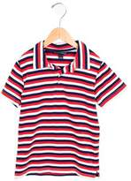 Oscar de la Renta Boys' Striped Collared Polo