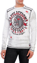 Affliction AC Stampede Long Sleeve Crew Neck Shirt