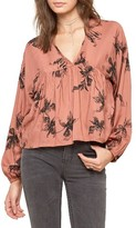 Amuse Society Women's Hutton High/low Blouse