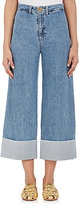Sea Women's Cuffed Wide-Leg Jeans