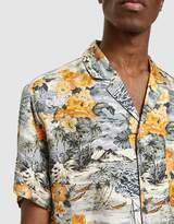Off-White Black & Orange Hawaiian Shirt