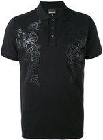 Just Cavalli printed polo shirt - men - Cotton/Spandex/Elastane - S