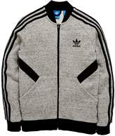 adidas Older Boy Ft Fz Track Top
