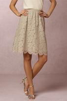 BHLDN Lydia Lace Skirt