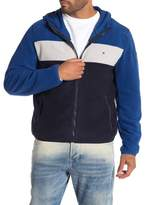 Tommy Hilfiger Fleece Hoodie Colorblocked Jacket