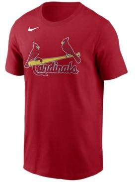 Nike St. Louis Cardinals Men's Swoosh Wordmark T-Shirt