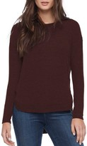 Michael Stars Women's Shirttail Hem Sweater