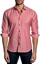 Jared Lang Semi-Fitted Long-Sleeve Sport Shirt T-552