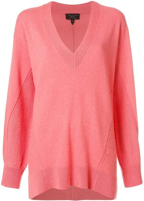 Rag & Bone Sabreena loose-fit cashmere jumper