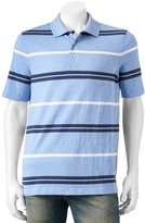 Croft & Barrow Big & Tall Signature Striped Polo