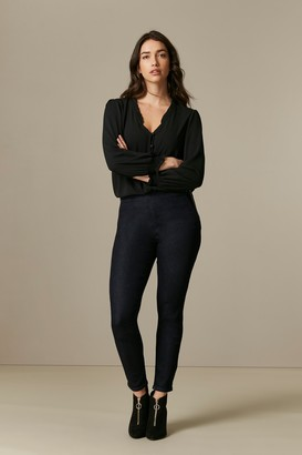 Wallis Indigo Side Zip Jeggings