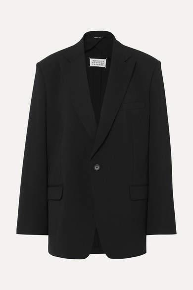 Maison Margiela Crepe Blazer - Black