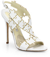 Sommer Leather Puzzle Sandals