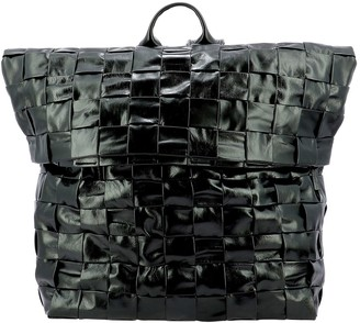 Bottega Veneta Intrecciato Woven Backpack