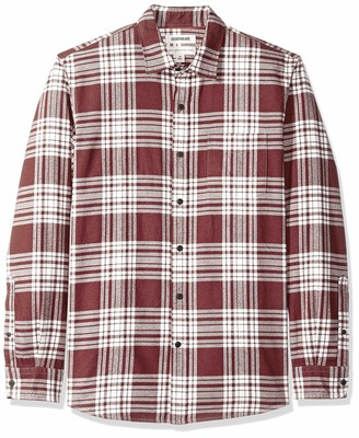 Goodthreads Standard-Fit Long-Sleeve Brushed Flannel Shirt Casual