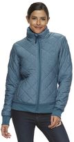 High Sierra Women's Lynn Quilted Insulated Bomber Jacket