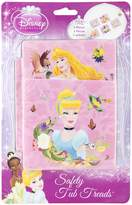 Disney Princesses Tub Treads - Includes 5 Non-Slip Treads - Pink