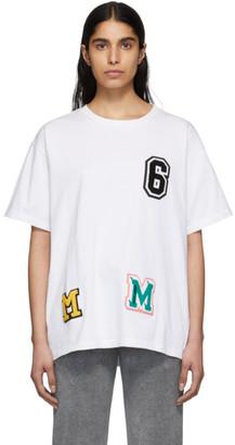 MM6 MAISON MARGIELA White Logo Patchwork T-Shirt