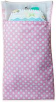 Tiny-Tote-Along Polka Dot Print Diaper Bag in Light Pink