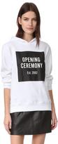 Opening Ceremony Established Hood Box Sweatshirt