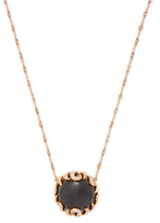 Rina Limor Fine Jewelry 18K Rose Gold, Black Onyx & 0.64 Total Ct. Diamond Pendant Necklace