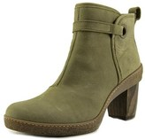 El Naturalista Nf71 Women Round Toe Leather Gray Ankle Boot.