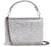 Rodo Glitter PVC mirror leather clutch bag