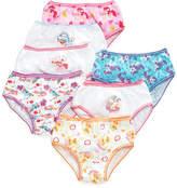 My Little Pony Little Girls' or Toddler Girls' 7-Pack Cotton Underwear